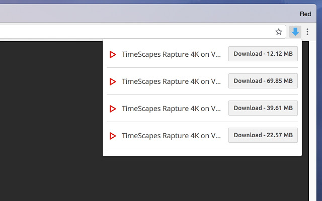 Vừa hỗ trợ tải, tiện ích Video Downloader Professional còn hỗ trợ xem qua Google Chromecast