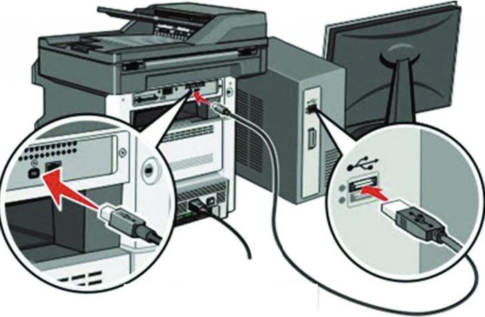 Kết nối máy in thông qua công cụ Add printer