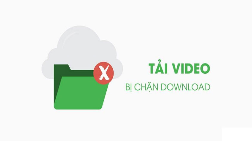 Cách download video từ website không cho download