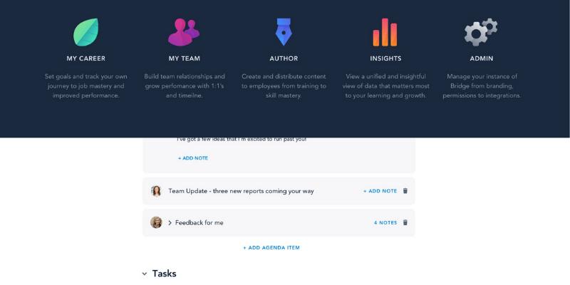 phần mềm quản lý học tập bridge