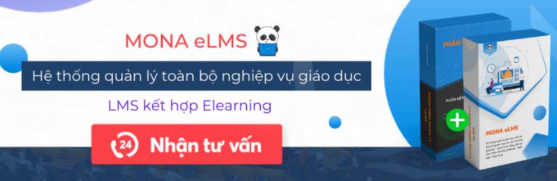 phần mềm quản lý học tập mona elms